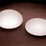 Saline-filled breast implants