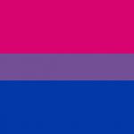 The bisexual pride flag